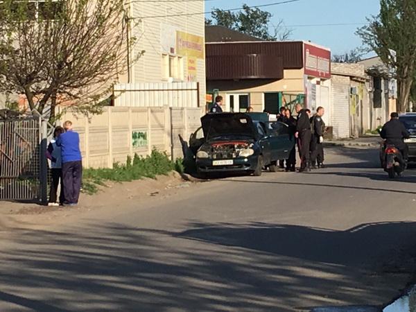 ВГеническе обнаружили авто совзрывчаткой