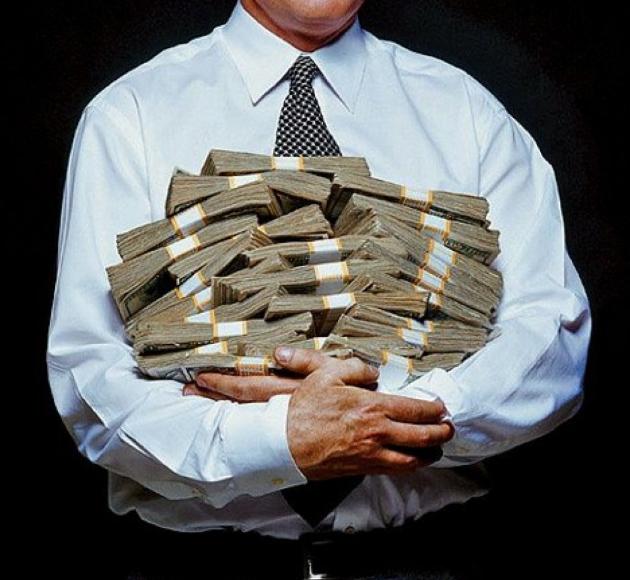 Крупный бизнес загод нарастил уплату налогов на30%