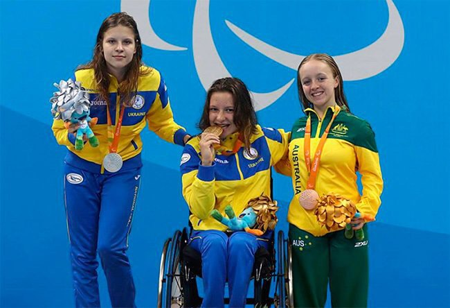 Украина завоевала еще 11 наград наПаралимпиаде